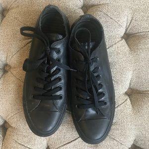 Black Rubber Converse
